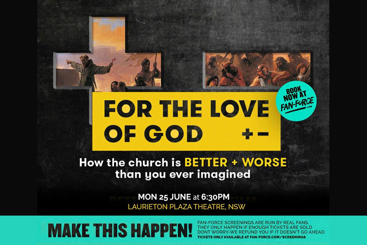 For the Love of God Movie at Laurieton Plaza Theatre